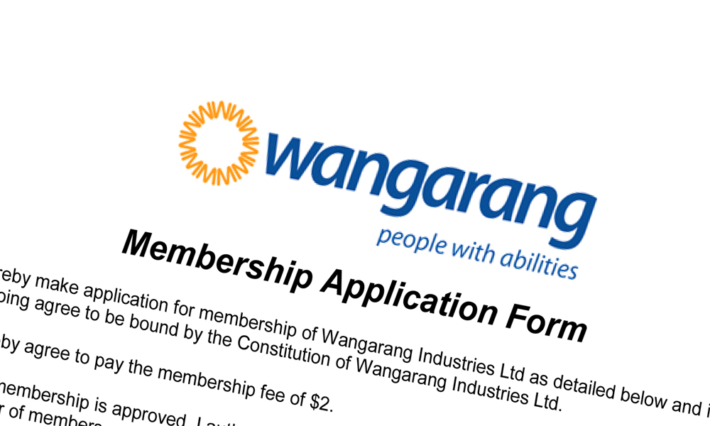 Wangarang_Membership Application Form - new members