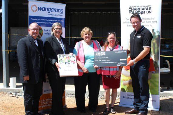 Newcastle Permanent Charitable Foundation grant recipients